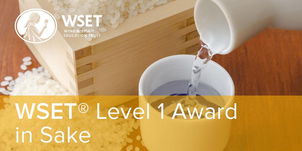 WSET Level 1 Sake