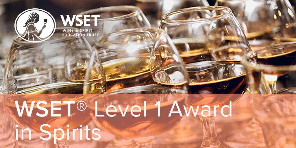 Online - WSET Level 1 Spirits