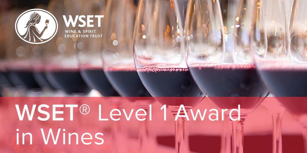 Online - WSET Level 1 Wines