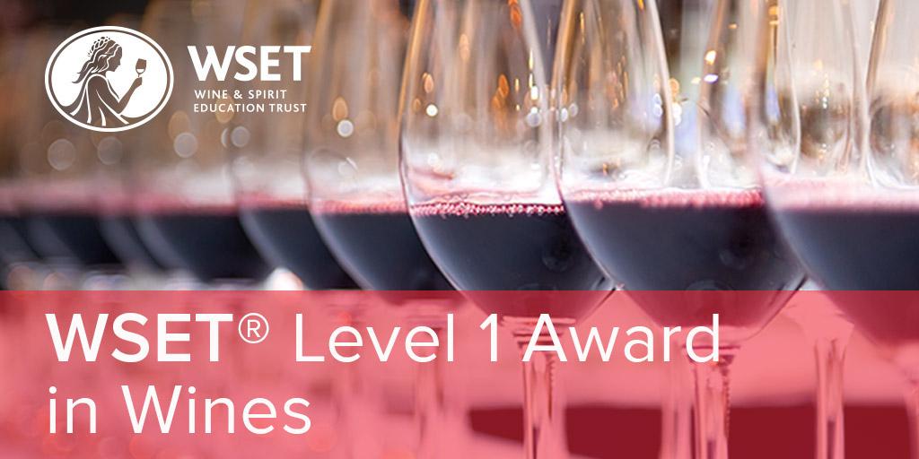 Online - WSET Level 1 Wines