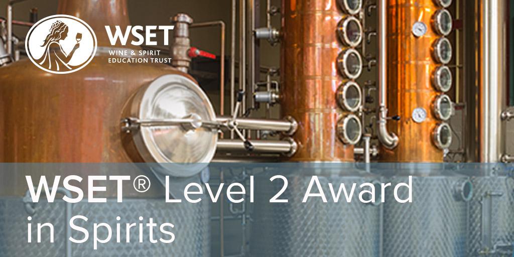 Online - WSET Level 2 Spirits
