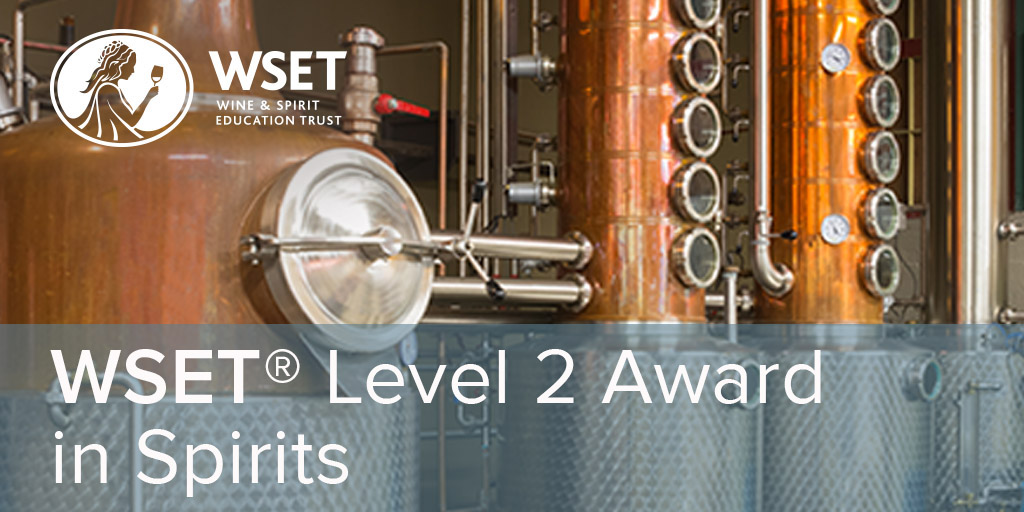 Online - WSET Level 2 Spirits