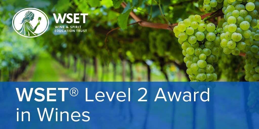 Online - WSET Level 2 Wines