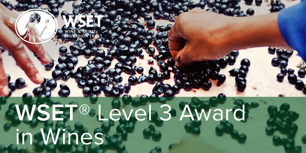 Online - WSET Level 3 Wines