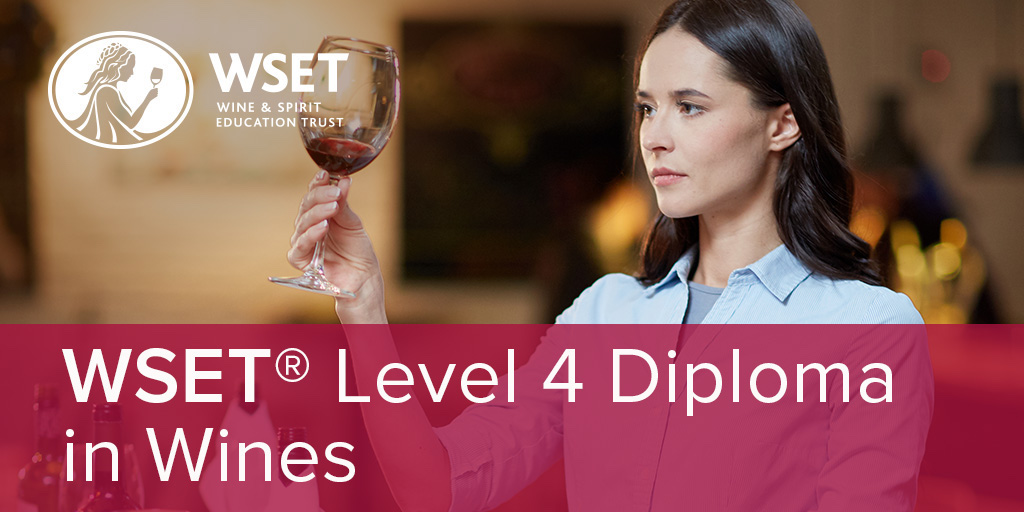 Online - WSET Level 4 Diploma in Wines Start